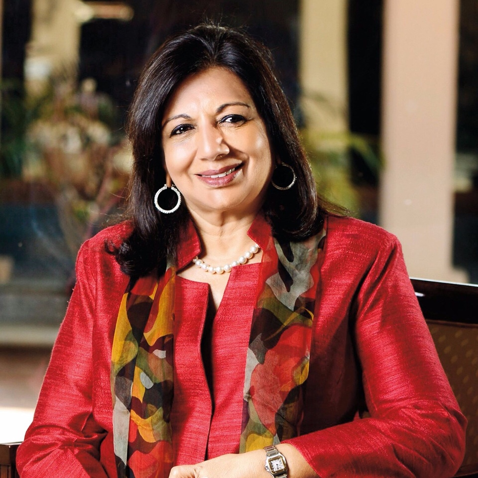 Kiran Mazumdar – Shaw – My Thoughts and Expressions