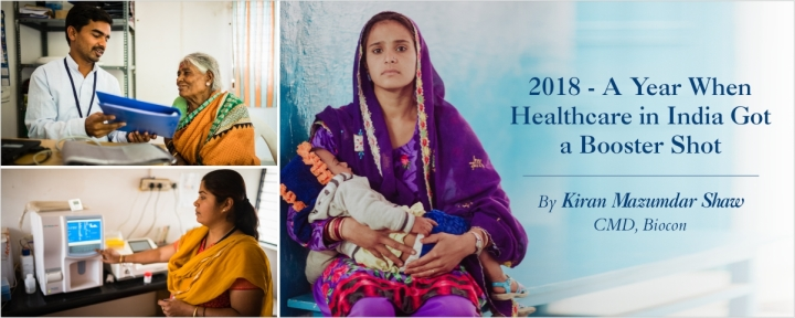 2018 – A Year When Healthcare in India Got a BoosterShot